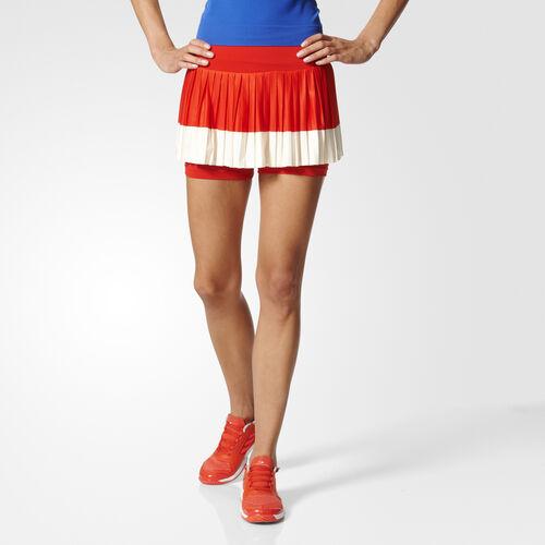 adidas - SKIRT Red/Cream White BK5360