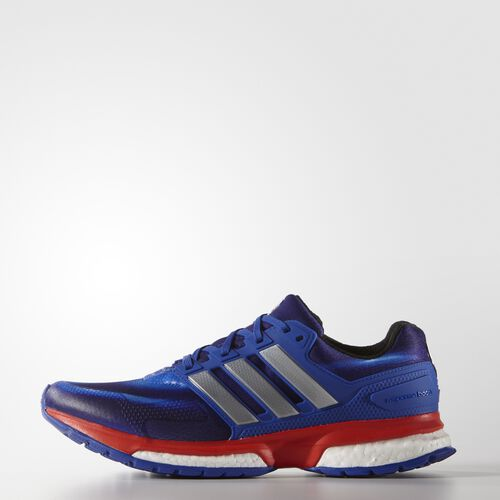adidas - Hommes Response Boost Avengers Shoes Bold Blue/Silver/Red S31662