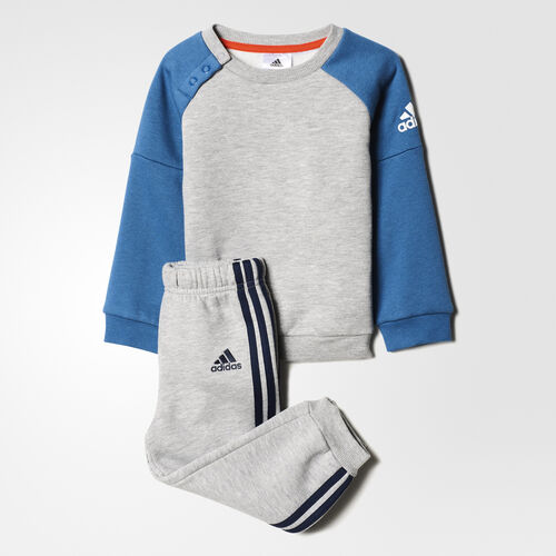 adidas - I SP CREW JOGG Medium Grey Heather/Core Blue BP5287