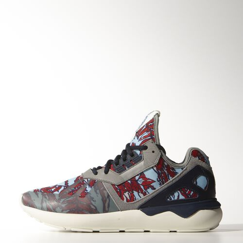 adidas - Hommes Tubular Runner Shoes Solid Grey/Collegiate Navy/Off White B35637