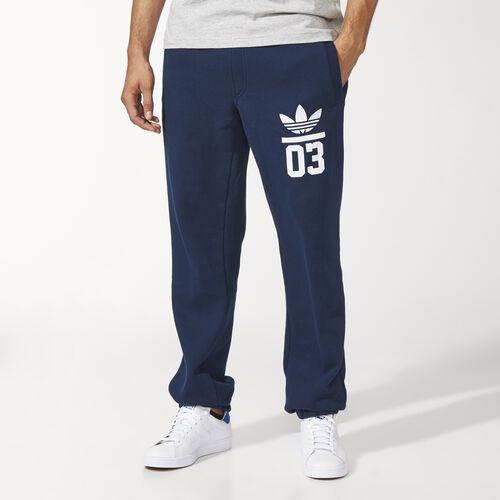 adidas - Hommes 3-Stripes Trefoil Track Pants Collegiate Navy M30316