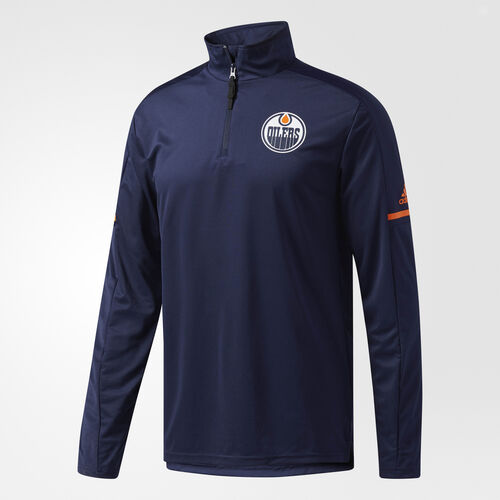 adidas - Oilers Authentic Pro Jacket Blue CC8606