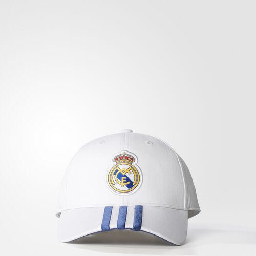 adidas - Real Madrid 3-Stripes Cap Crystal White/Raw Purple S94867