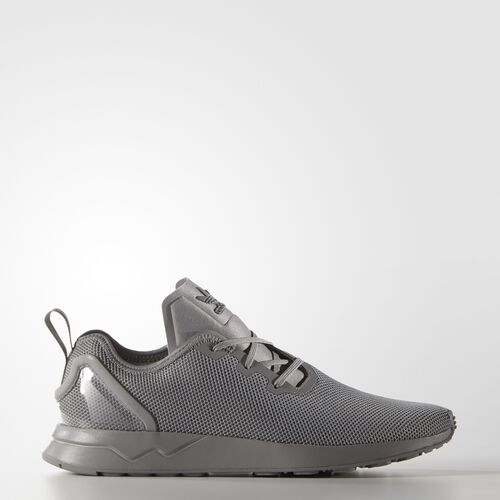 adidas - Men's ZX Flux ADV Asymmetrical Shoes Solid Grey/Spring Yellow S79052