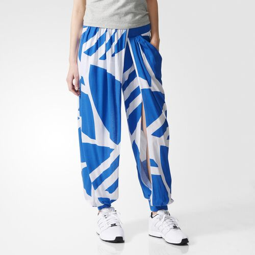 adidas - Women's Couture Twisted Track Pants White / Bluebird S19850