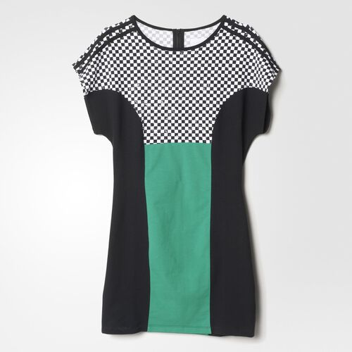 adidas - Femmes Racing Dress Black / Bold Green S14607