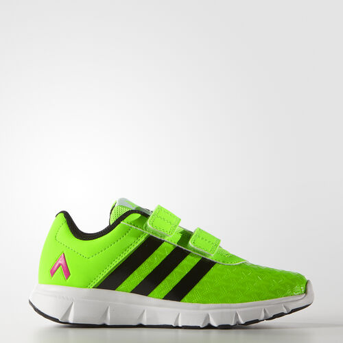 adidas - Kids ACE Football Training Shoes Solar Green/Core Black/Shock Pink AF4373