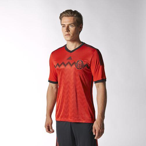 adidas - Men's Mexico Away Jersey Poppy / Black G74508