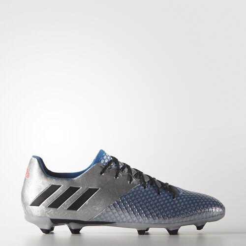 adidas - Hommes Messi 16.2 Firm Ground Boots Silvmt/Cblack/Shoblu S79629