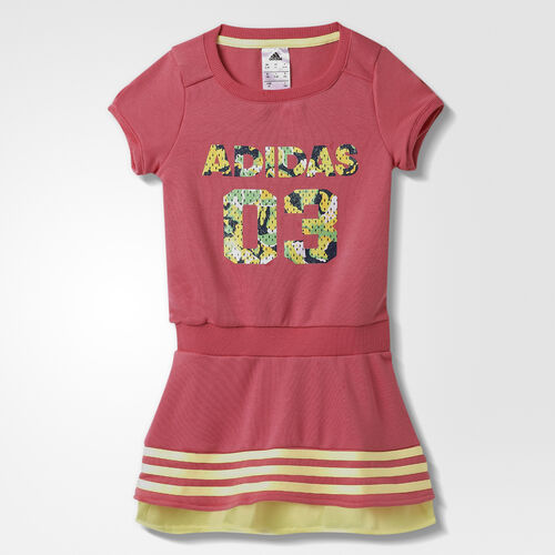 adidas - Kids Rock It Dress Super Pink  / Frozen Yellow AB3624
