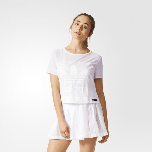 adidas - Femmes Slit Tee WHITE AJ7775