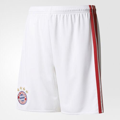 adidas - Youth FC Bayern Munchen Home Replica Shorts White/True Red AI0060