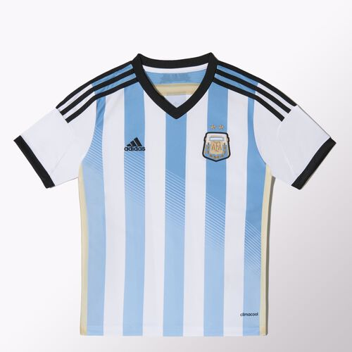 adidas - Enfants Argentina Home Jersey White / Colombia Blue / Black G74571