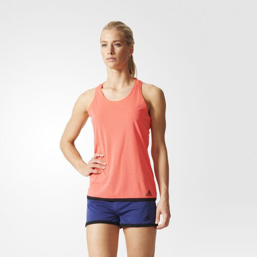 adidas - Women's Climachill Tank Top Chill Flash Red/Black S24516