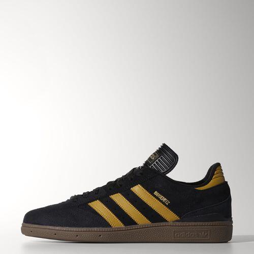 adidas - Men's Busenitz Shoes Core Black / Spice Yellow / Gum C75228
