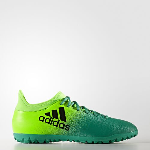 adidas - BOTINES DE FÚTBOL X 16.3 TF Solar Green/Core Black/Core Green BB5875