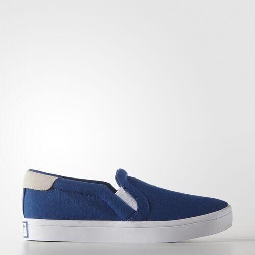 adidas - Enfants CourtVantage Slip-On Shoes Eqt Blue S16 / Ftwr White / Lush Red S16-St S75180