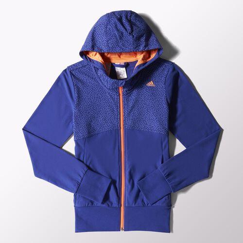 adidas - Youth Wardrobe Smart Hoodie Semi Night Flash  / Flash Orange S16425