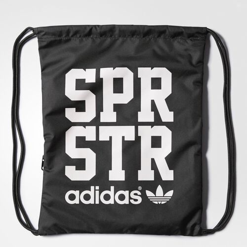 adidas - Superstar Gym Sack Black / White S20104