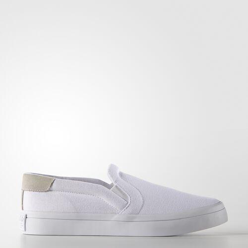 adidas - Femmes CourtVantage Slip-On Shoes FTWWHT/FTWWHT/CBLACK S75172