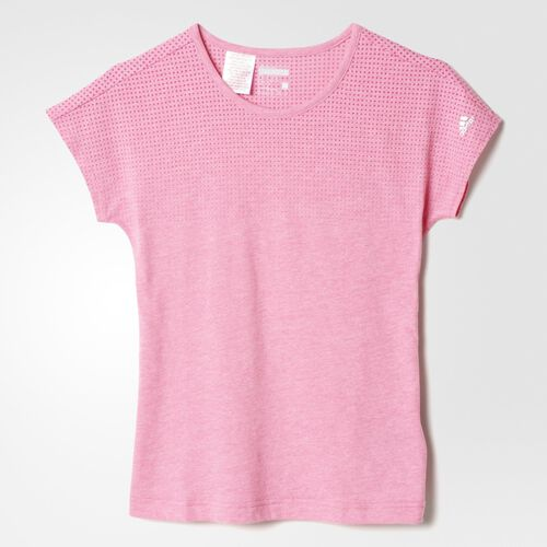 adidas - Youth Climacool Aeroknit Tee Bold Pink AB4768