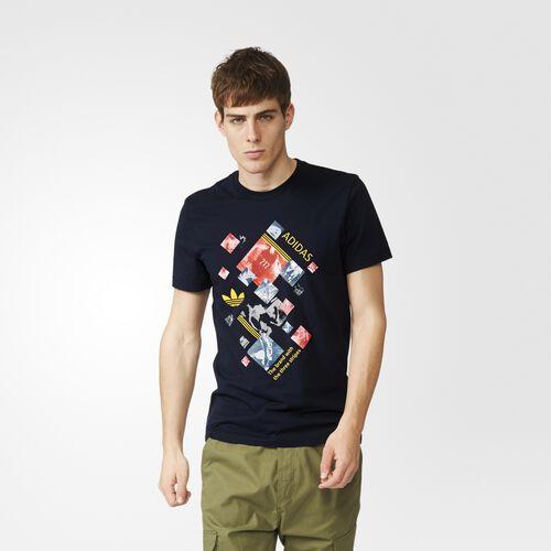 adidas - Men's Running Collage Tee LEGINK AJ7159