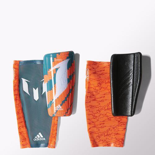 adidas - Messi 10 Shin Guards Solar Orange / Power Teal / White M38640