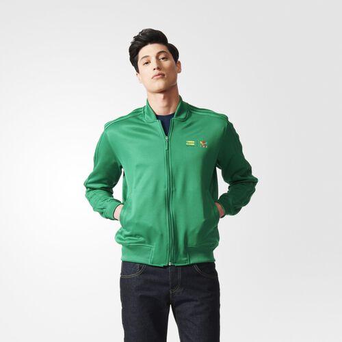 adidas - Supercolour Track Jacket Green AC5925