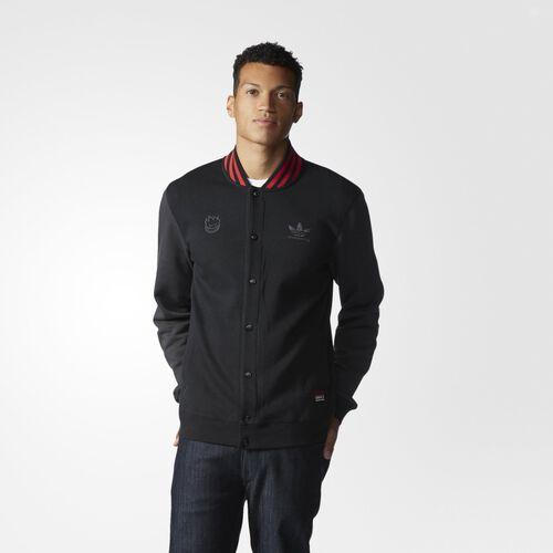adidas - Hommes Spitfire Jacket Black / Collegiate Red / Carbon AB7995