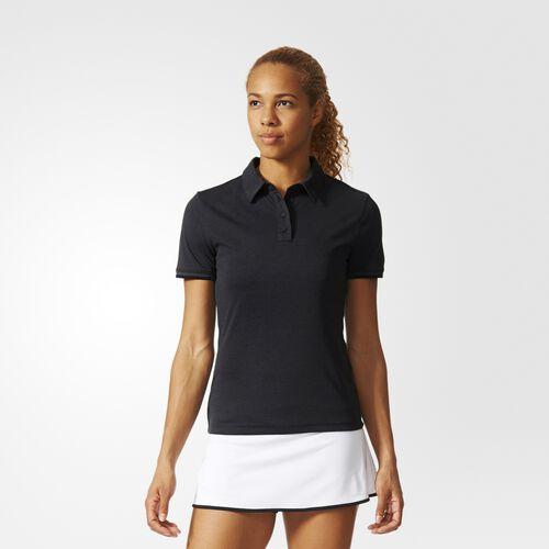 adidas - Women's Uncontrol Climachill Polo Shirt Black AJ9285