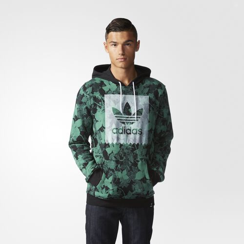 adidas - Hommes Poison Ivy League Hoodie Blanch Green/Black S93433
