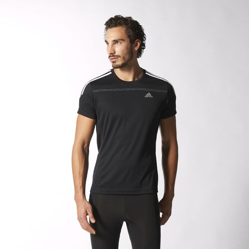 adidas - Men's Response Tee Ftwr White / Core Black / Solar Blue2 D85701