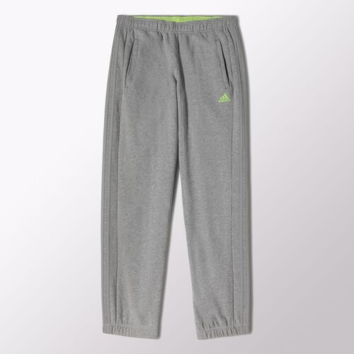 adidas - Men's 3-Stripes Sweat Pants Medium Grey Heather M67361