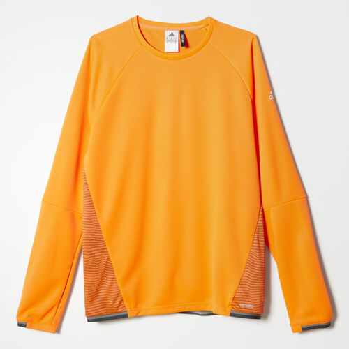 adidas - Men's adizero Training Top Solar Orange / Maroon AB1319
