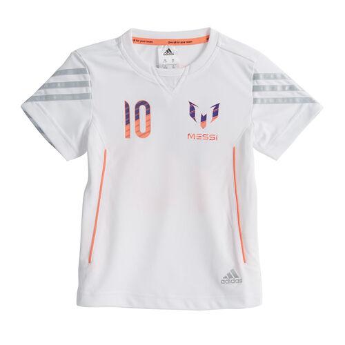 adidas - Enfants Messi Tee White G71859