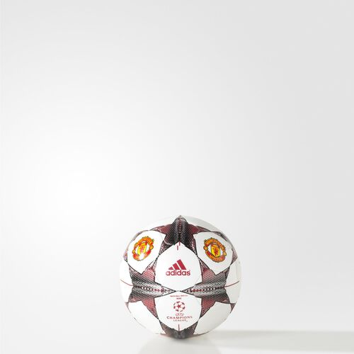 adidas - Finale 15 Manchester United Mini Ball White/Real Red/Silver/Black AC2396