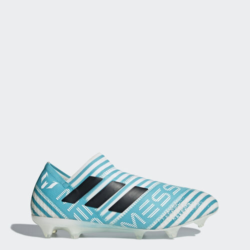 adidas - Nemeziz 17+ 360 Agility Firm Ground Cleats Running White Ftw  /  Energy Blue BY2401