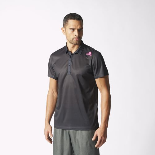 adidas - Hommes adizero Polo Shirt Black S15698