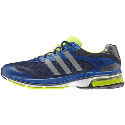 adidas - Hommes Supernova Glide 5 Shoes Blue Beauty / Electricity / Metallic Silver G97321