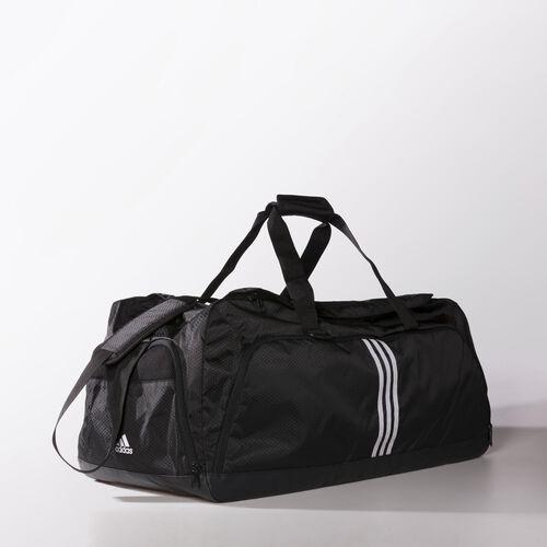 adidas - 3-Stripes Performance Team Bag Large Black / White / White M67810