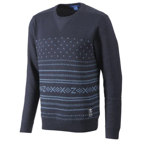 adidas - Hommes ZX Knit Crew Pullover Legend Ink G84463