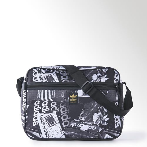 adidas - Airliner Classic Shoulder Bag Multicolor / Black / White M30574