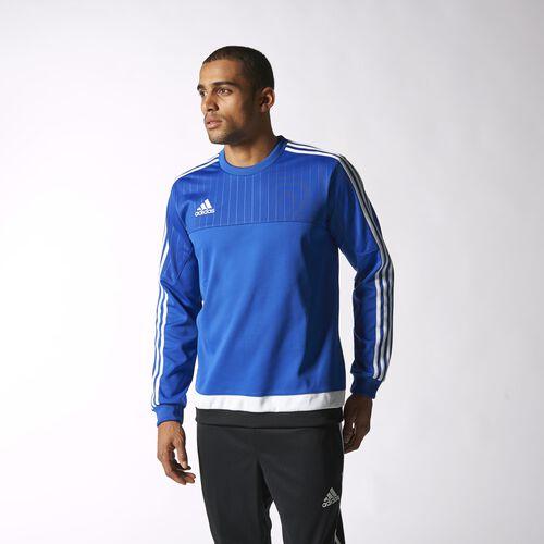 adidas - Tiro15 Sweatshirt Bold Blue  /  White  /  Black S22425