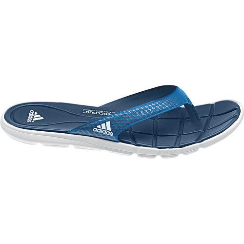 adidas - Femmes adipure 360 Flip-Flops Running White / Tribe Blue / Solar Metallic F32512