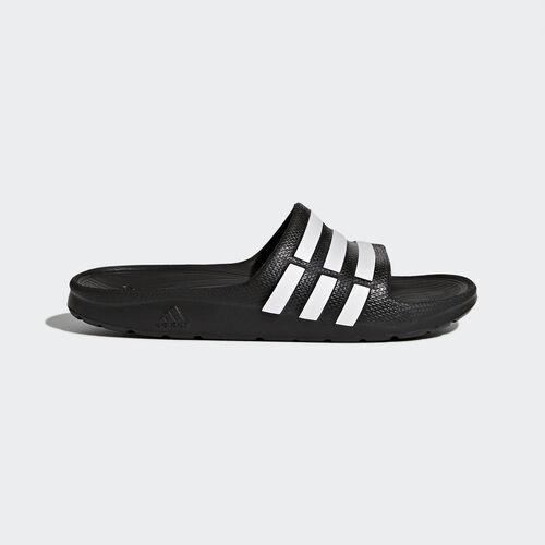 adidas - Enfants DURAMO SLIDE Core Black  /  Running White  /  Black G06799