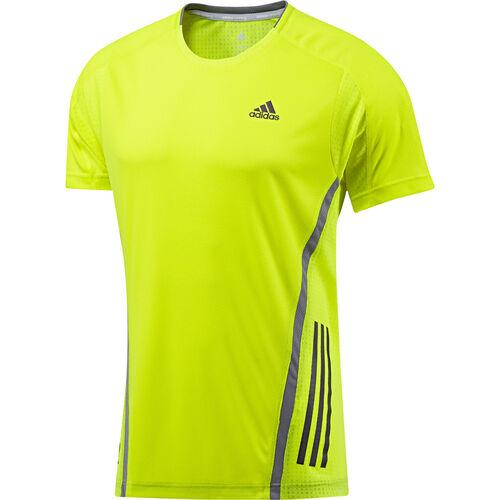adidas - Hommes Supernova Short Sleeve Tee Electricity / Tech Grey G75305