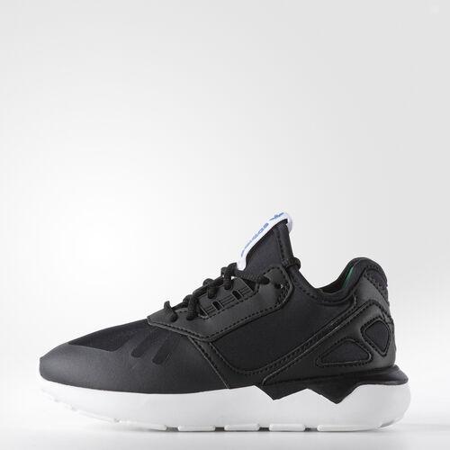 adidas - Kids Tubular Runner Shoes Core Black/Core Black/Surf Green B23657
