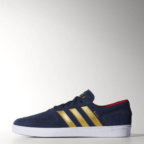 adidas - Men's Silas Vulc Shoes Collegiate Navy/Gold Met./Scarlet C76941
