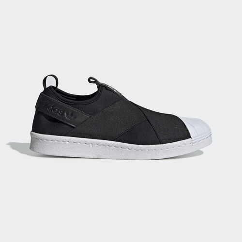 adidas - Tênis Superstar Slip On Feminino Core Black/White S81337