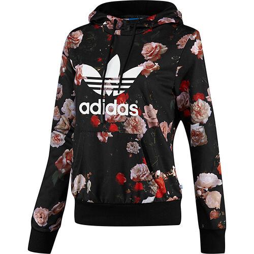 adidas - Femmes Logo Hooded Sweatshirt Black F79297